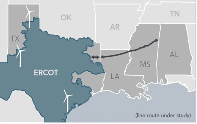Pattern files route for 2-GW power line with Mississippi regulators