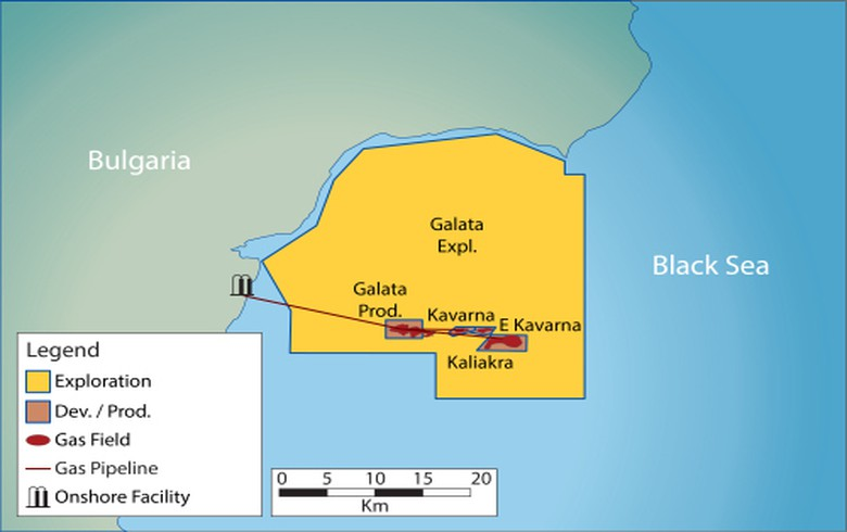 Bulgaria extends Petroceltic's concession of Galata exploration block