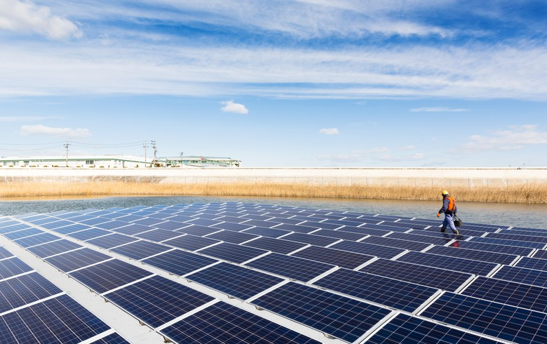 Akuo kicks off work on 17-MW floating PV plant in France