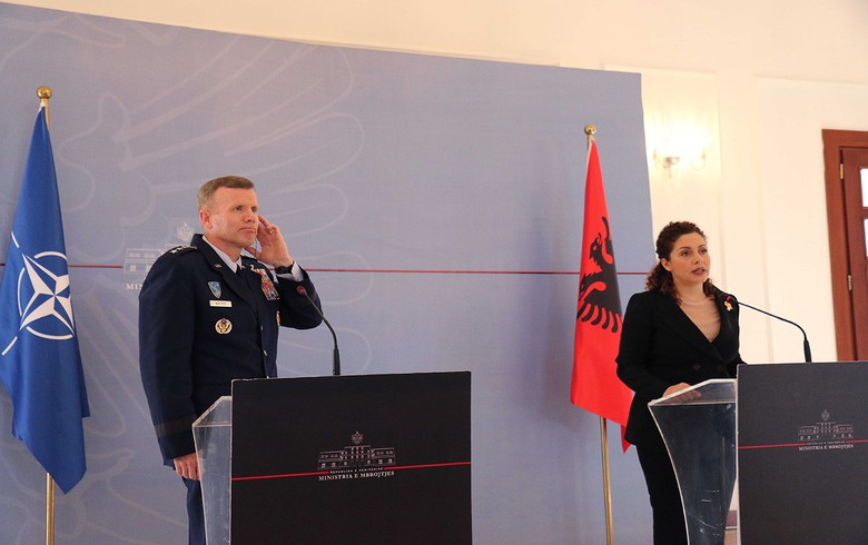 NATO starts works in Albania on first Western Balkans air base – defence ministry