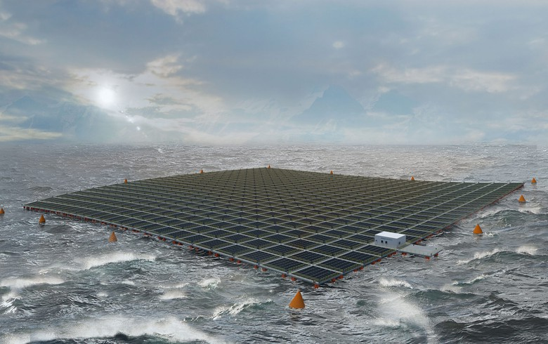 Saipem, Equinor tie up on floating solar concept