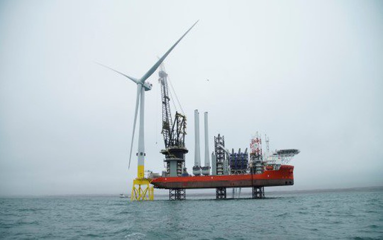 Vattenfall deploys world's 1st 8.8-MW turbine off Scotland
