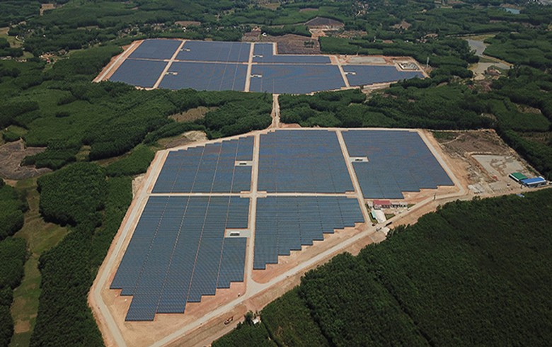 Sharp completes 49-MW solar power plant in Vietnam