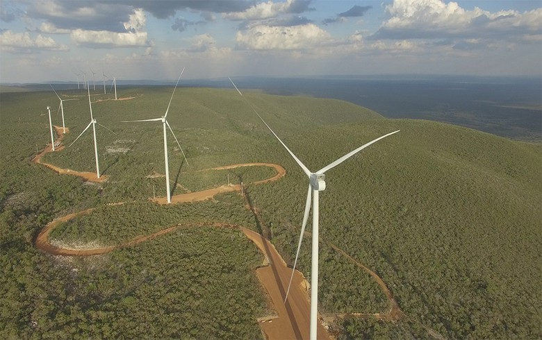 Brazil's wind generation jumps 21% in early June