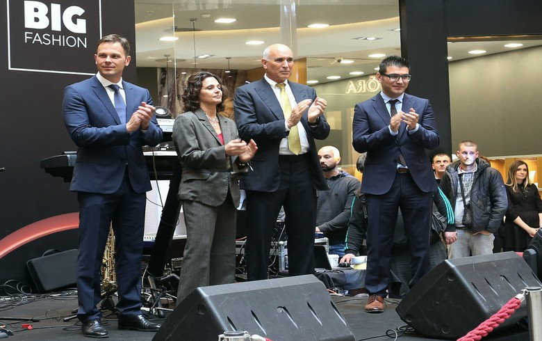 Dutch-based Plaza Centers opens shopping mall in Belgrade