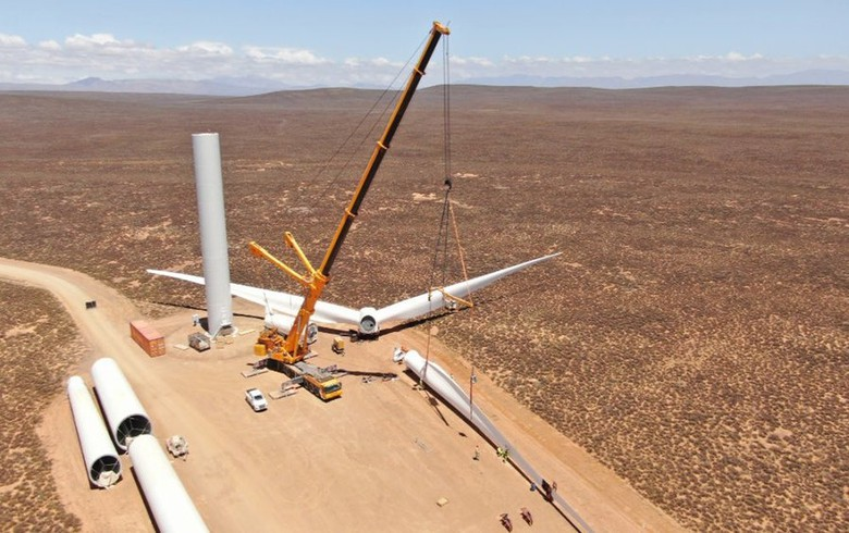 Mainstream almost halfway done with Perdekraal East wind farm