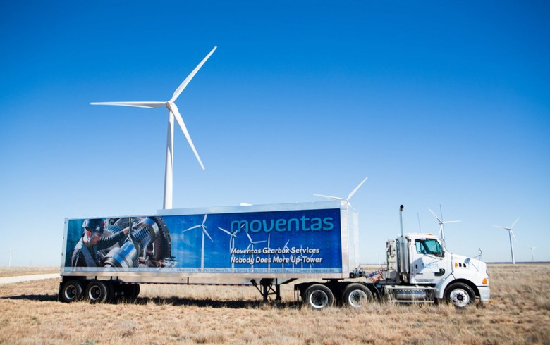 Wind gearbox maker Moventas expanding Texas production base