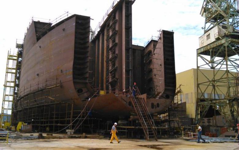 Croatia's Brodotrogir starts building tanker icebreaker for Arctech Helsinki Shipyard