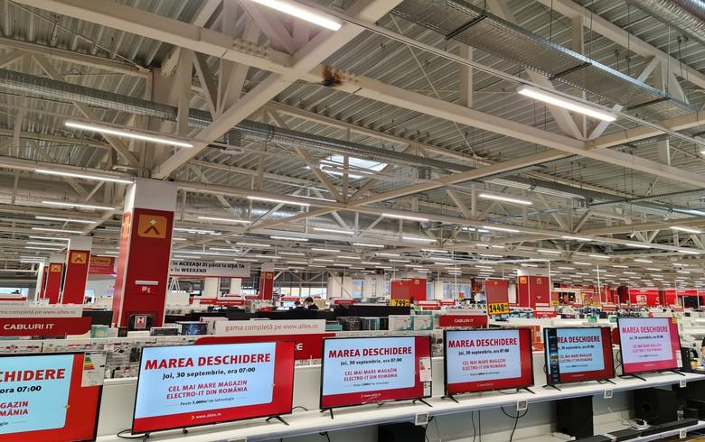 Romania's Altex invests 5 mln euro in new store