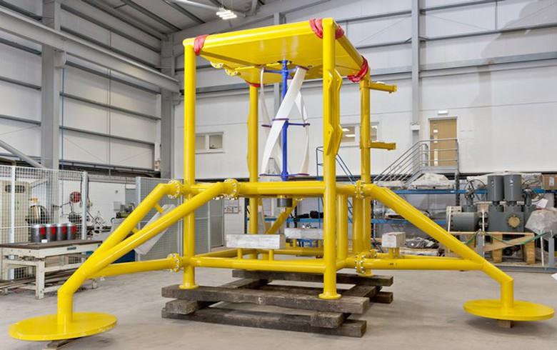UPDATE - EMEC testing started for EC-OG ocean energy converter