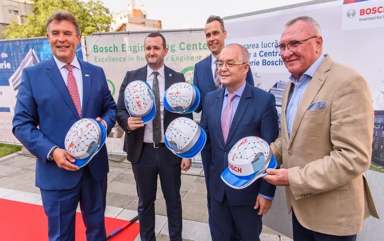 博世在罗马尼亚的2100万欧元办公大楼破土动工