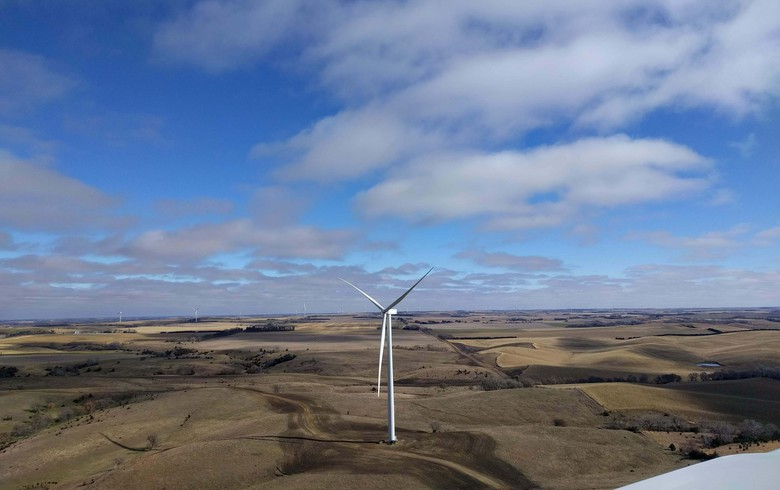 Invenergy says 200-MW wind farm in Nebraska up and running