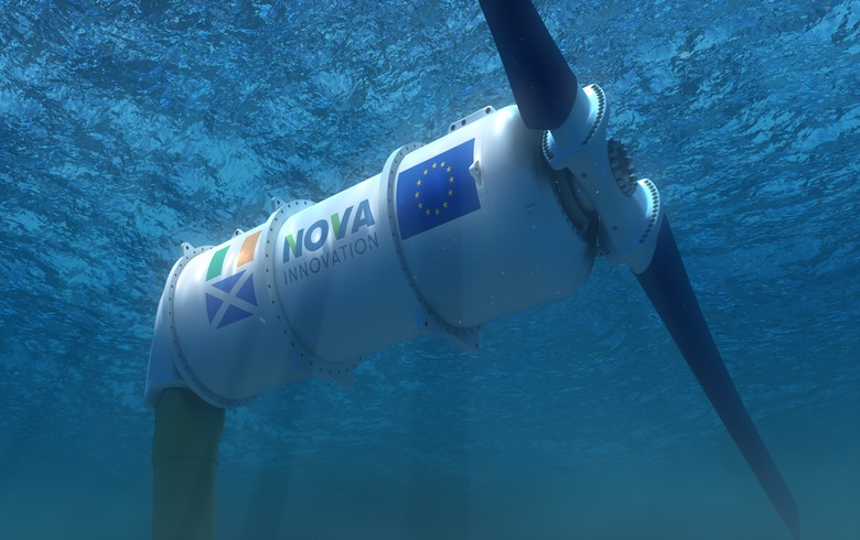 Nova manufactures 1st D2T2 tidal turbine, to export 15 units to Canada