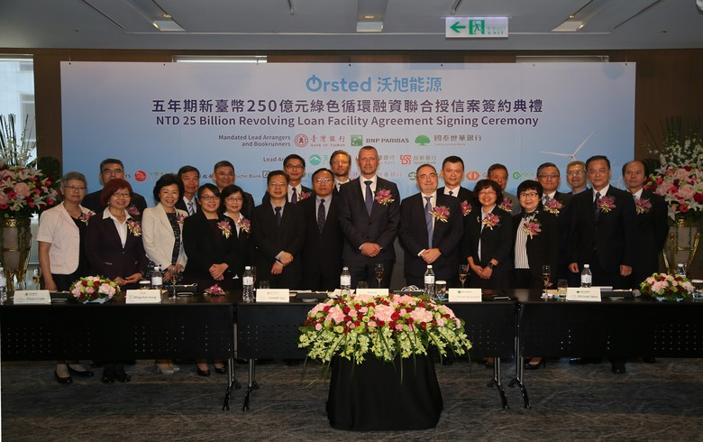 Ørsted signs USD-805m revolver for 900-MW Thai offshore wind project