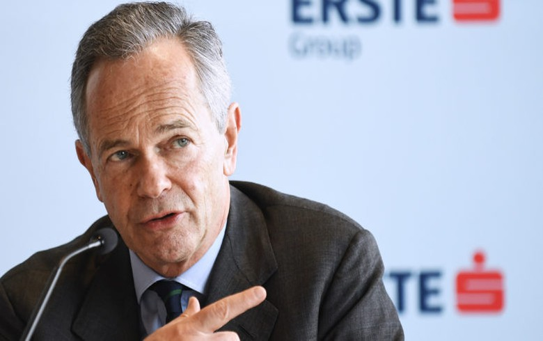 Austria's Erste not to bid for Serbia's Komercijalna Banka - CEO Treichl
