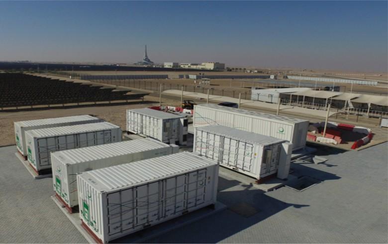 NGK installs battery storage system for Dubai solar park