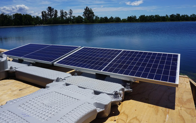 Ciel & Terre installing 1.8-MW floating PV array in California