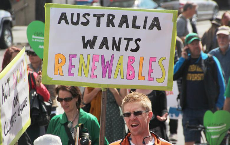 Australian confidence in clean energy investment drops further - survey