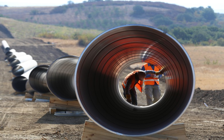 TAP completes 2/3 of pipe trenching in Albania, Greece