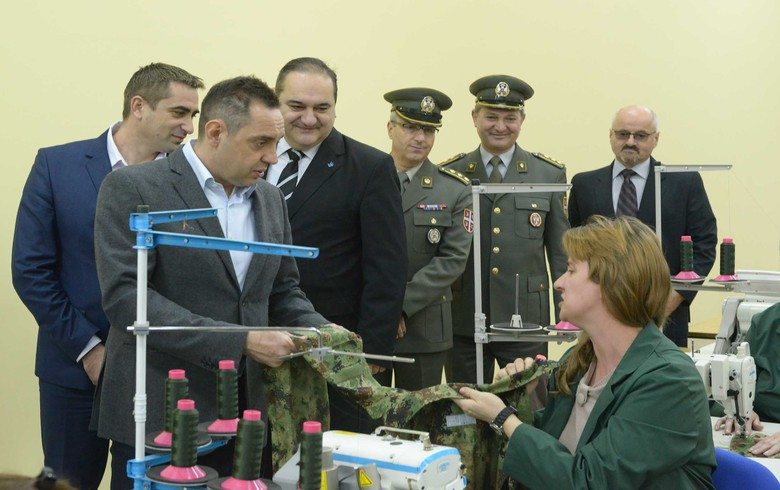 Serbia's Yumco opens personal protective equipment factory - def min
