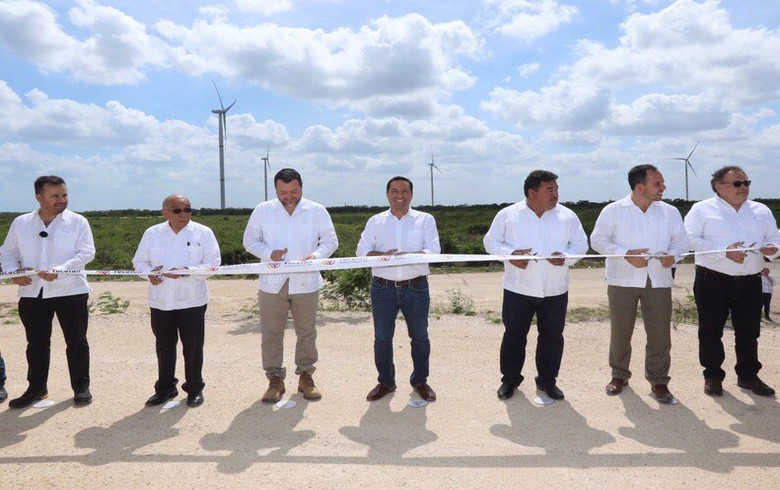 Mexico switches on 70-MW wind park