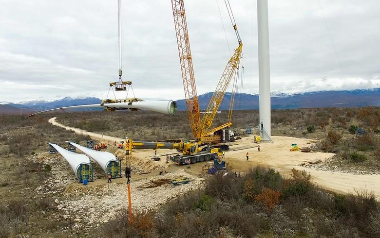 斯洛文尼亚石油公司在克罗地亚启动30兆瓦风电场