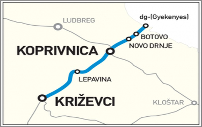 Croatia receives 10 bids in tender for 297 mln euro railway project
