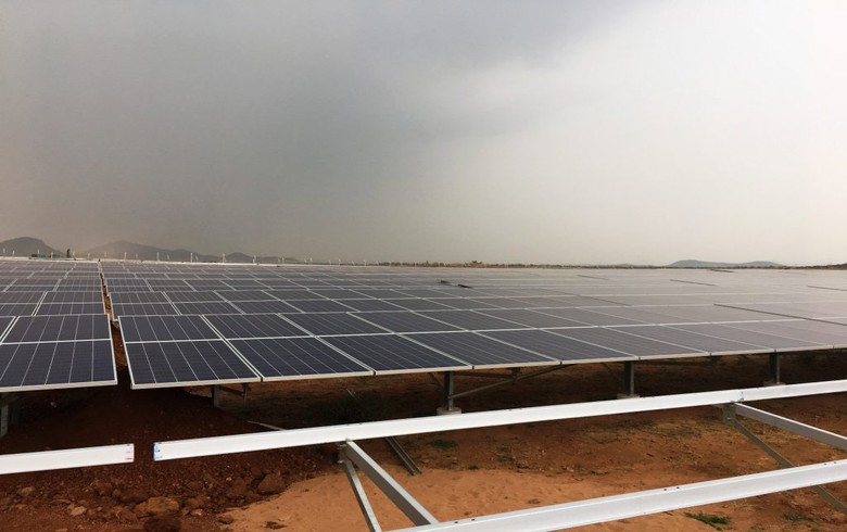 FRV swtiches on 138-MW PV plant in India