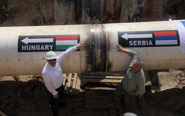 Srbsko a Maďarsko dokončily výstavbu přeshraničního plynovodu