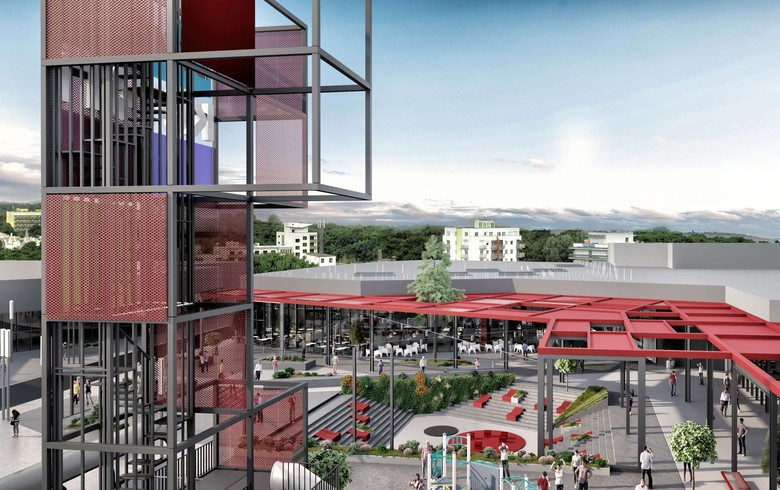 Ceetrus Romania expands shopping mall in Satu Mare
