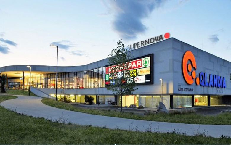 Supernova closes 220 mln euro acquisition of ten Qlandia shopping malls in Slovenia