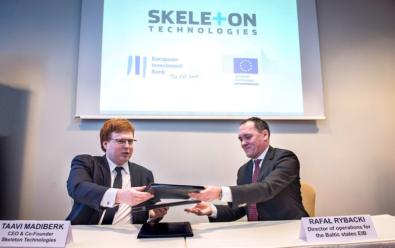 Ultracapacitor maker Skeleton gets EUR-15m EIB financing