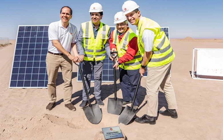Sonnedix breaks ground on 171-MW PV park in Chile