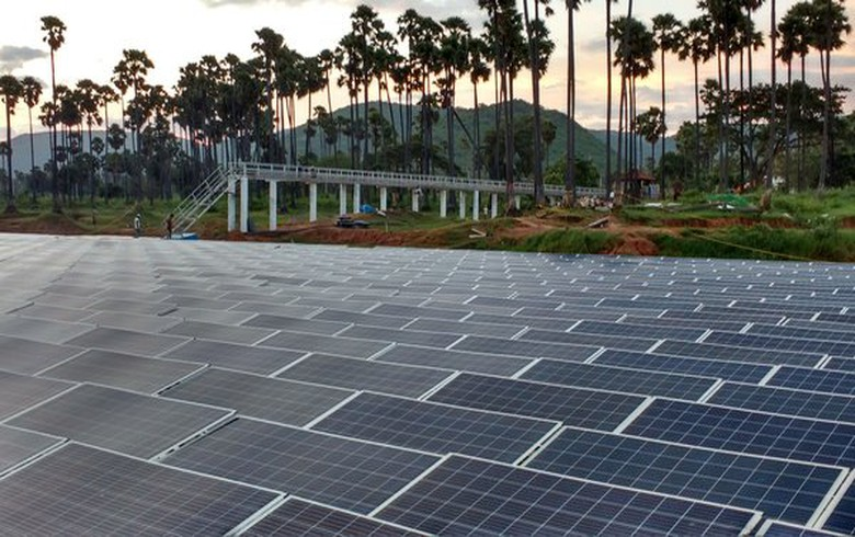 Indian city plans 100 MW of floating solar to power water pumps - report