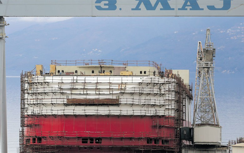 Croatia's govt pledges support to struggling 3 Maj shipyard