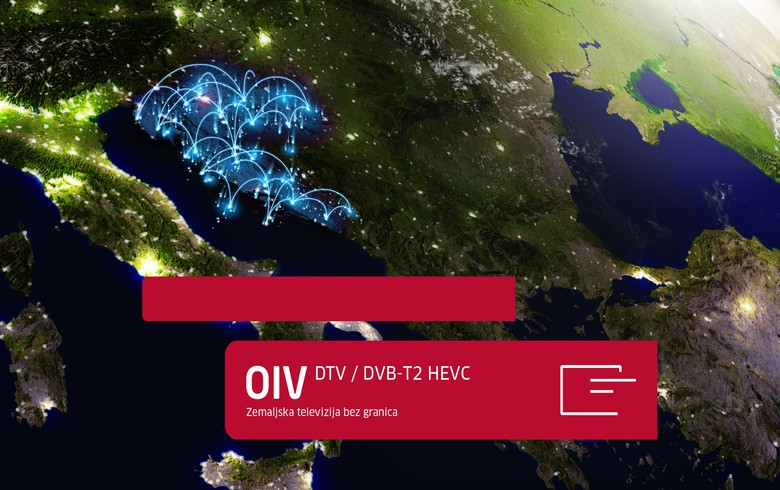 Croatia's OiV starts DVB-T2 HEVC broadcasting all over country