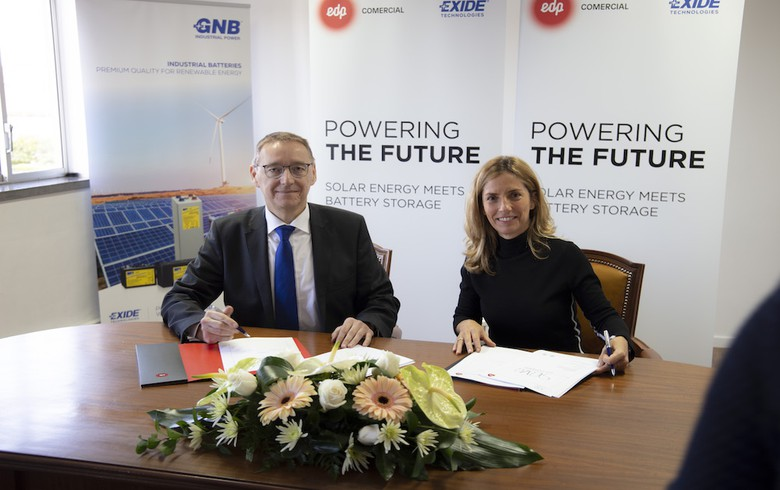 EDP to build for Exide 3.8 MWp of solar-plus-storage in Portugal