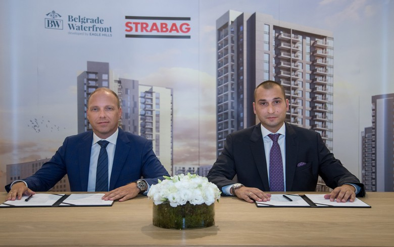 Strabag to construct two Belgrade Waterfront residential buildings