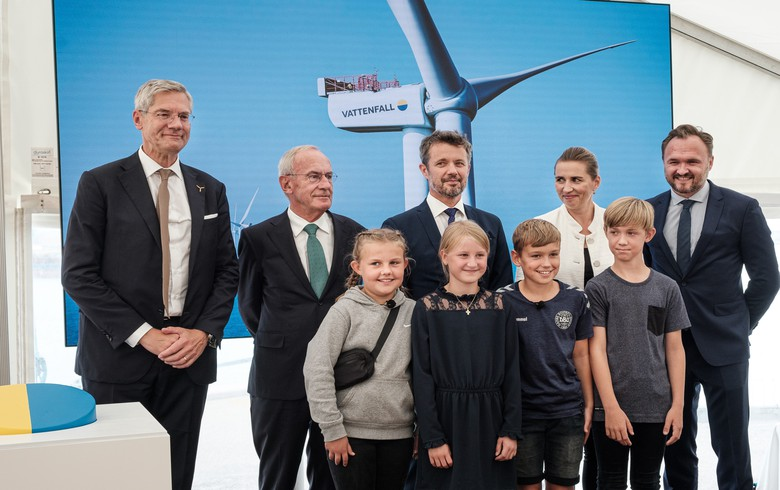 Vattenfall opens 407-MW Horns Rev 3 offshore wind farm