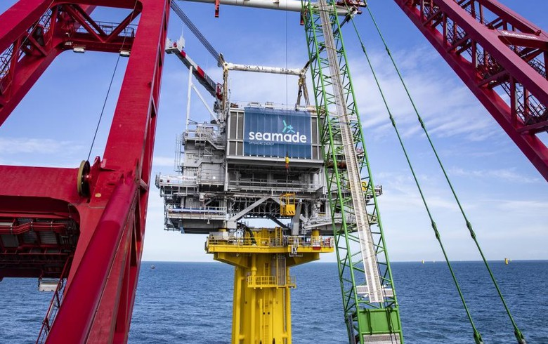 Substations in place for Belgium's SeaMade offshore wind complex