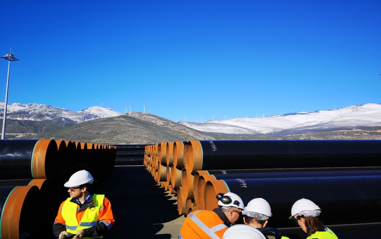 First 47 km of line pipes for Greece-Bulgaria gas link now produced