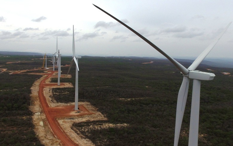 First turbine begins generation as part of 151-MW Brazilian wind farm