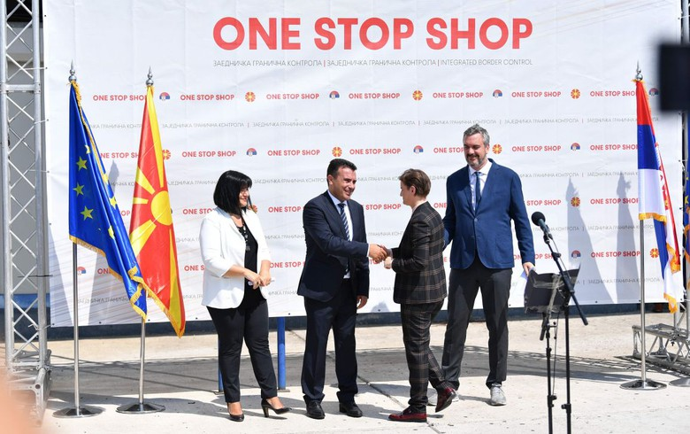 N. Macedonia, Serbia open jointly operated border checkpoint
