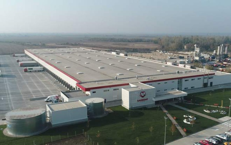 Romania's Sameday Courier opens 20 mln euro logistics centre