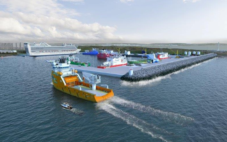 Scottish Enterprise backs GBP-350m expansion of Aberdeen Harbour