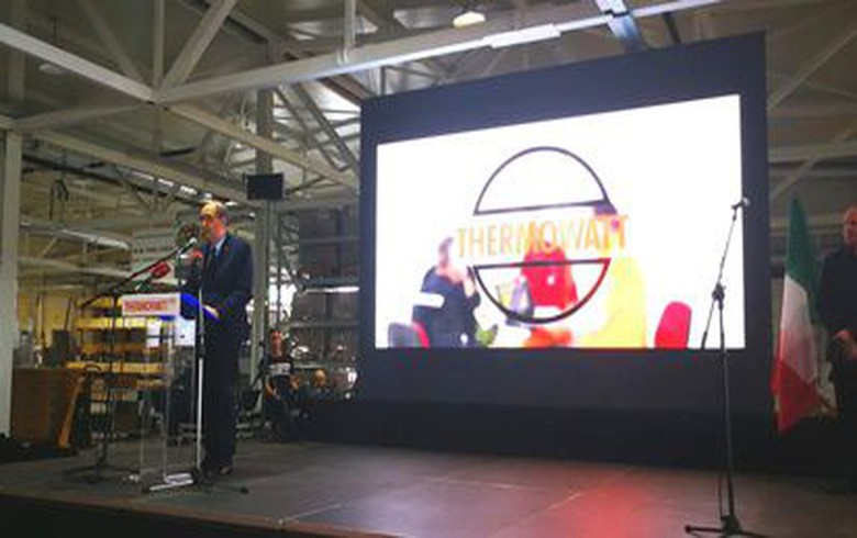 Italy's Thermowatt opens 2.5 mln euro factory in Serbia