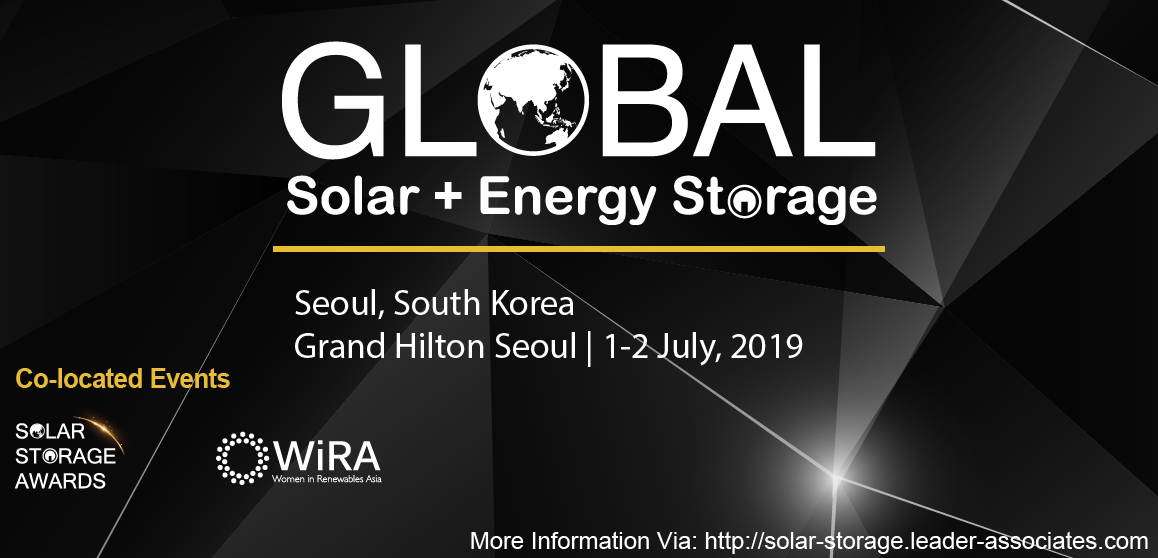 Global Solar + Energy Storage Congress