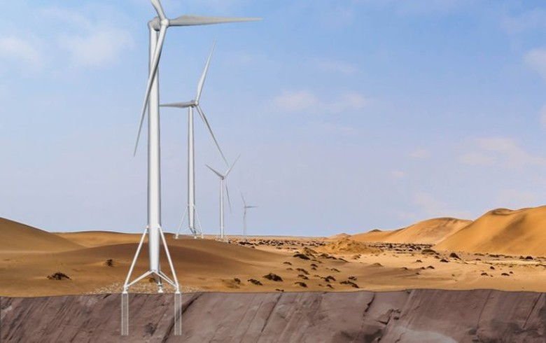 Nabrawind to bring self-erecting towers to Namibian wind project