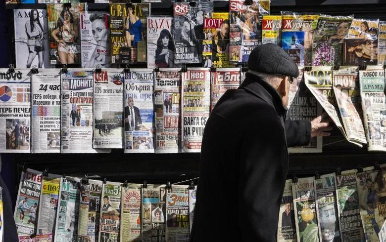 保加利亚媒体最不自由的欧盟,看看涂抹运动,国家骚扰 -  RSF