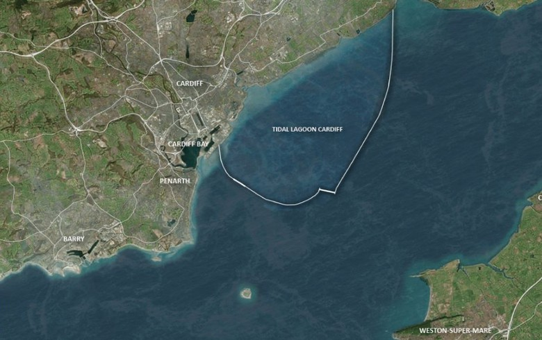Grid deal agreed for 3.24-GW Cardiff tidal lagoon project